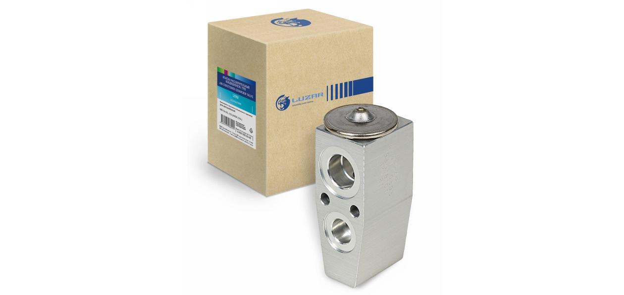 LUZAR представил расширительные клапаны кондиционера