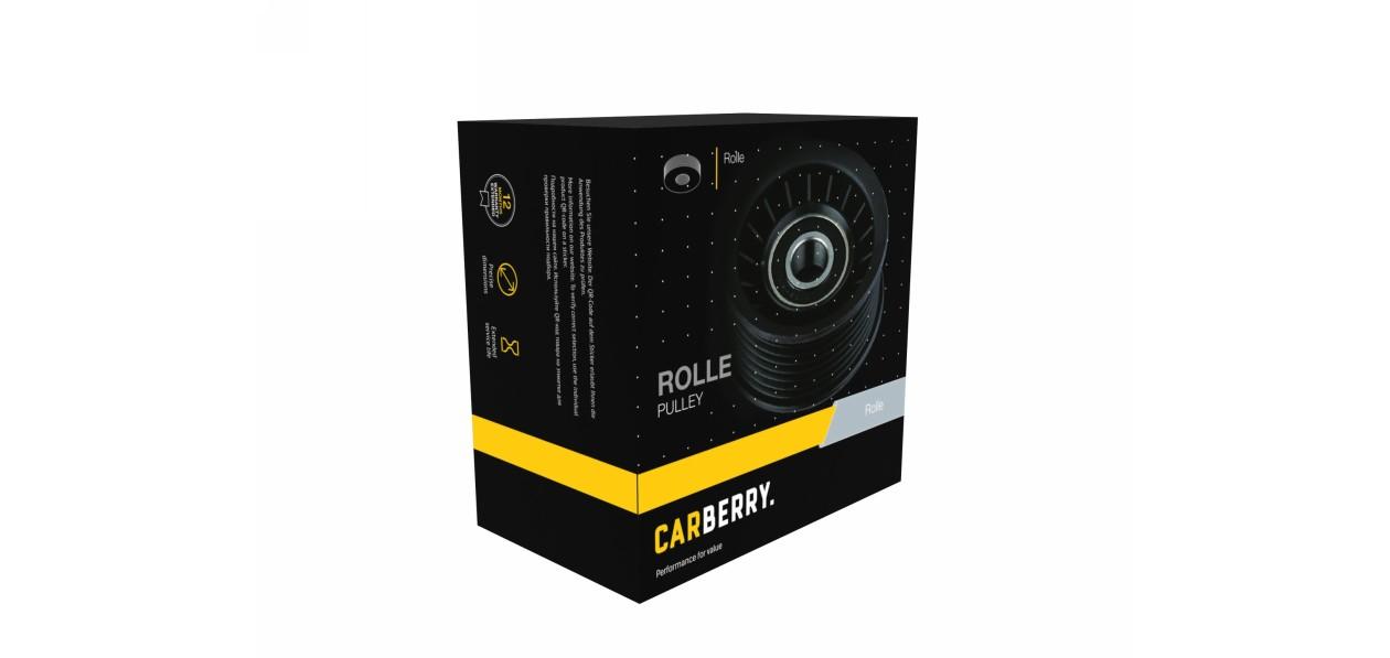 Carberry выпустила на российский рынок ролики и натяжители ремней