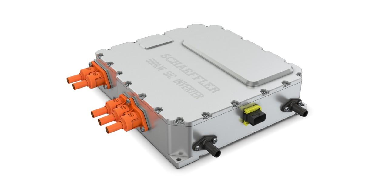 Schaeffler покажет силовую установку для мощных электромобилей