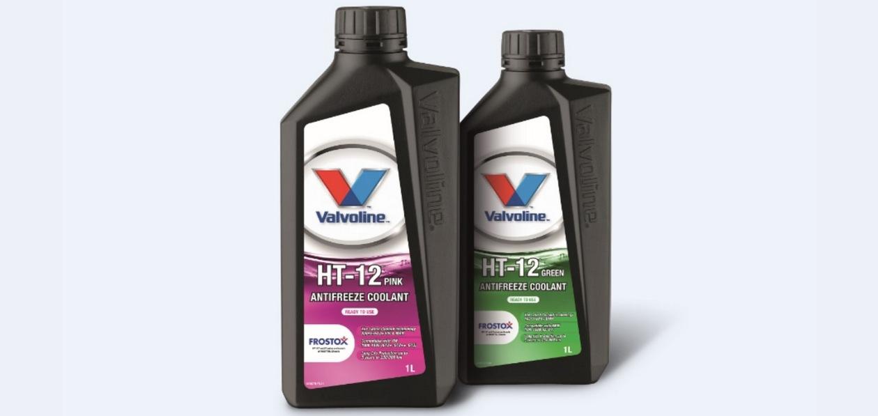 Valvoline представила новые охлаждающие жидкости