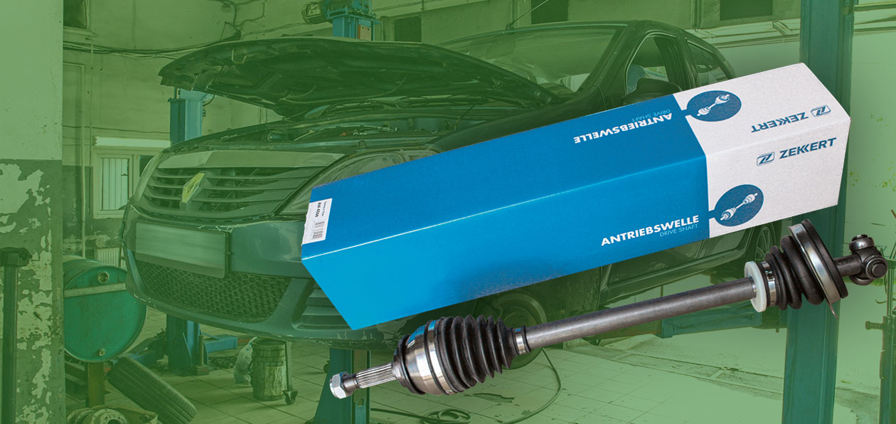 Меняем ШРУС на Renault Logan, используя компоненты Zekkert