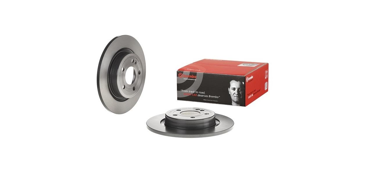 Brembo выпустила расширила ассортимент задних тормозных дисков и колодок