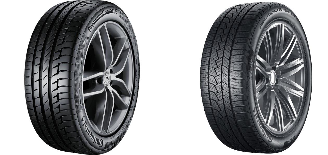 Porsche сертифицировала шины Continental для электрокара Taycan