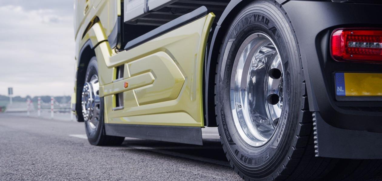 Goodyear представила экономичные шины для тягачей