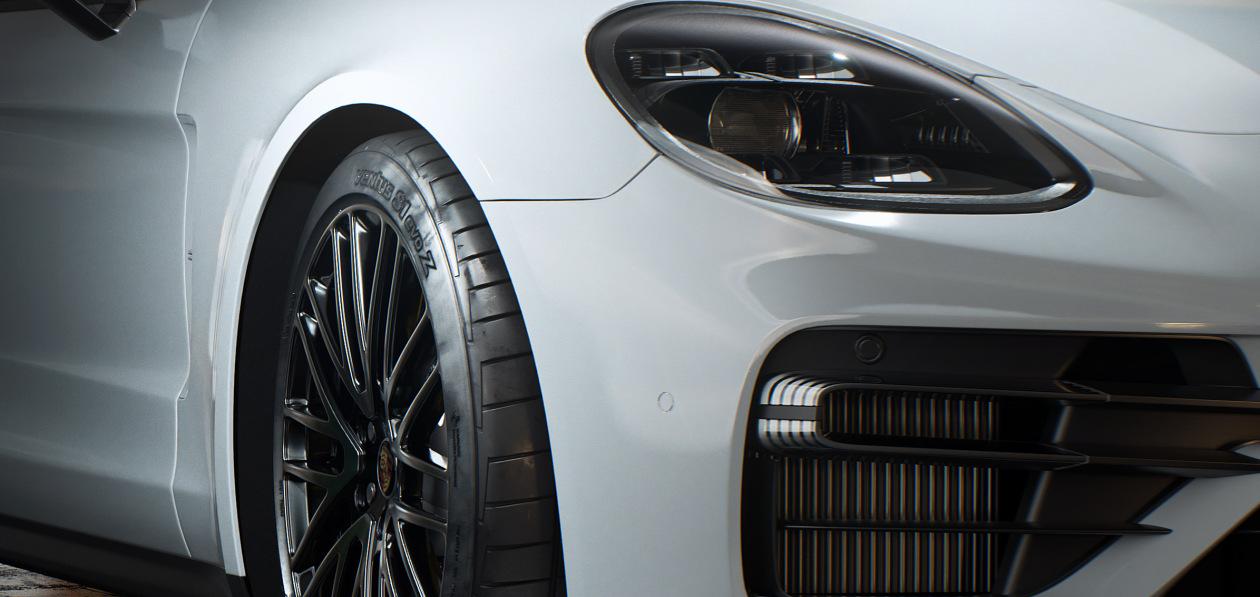 Hankook обует в фирменные шины Porsche Panamera