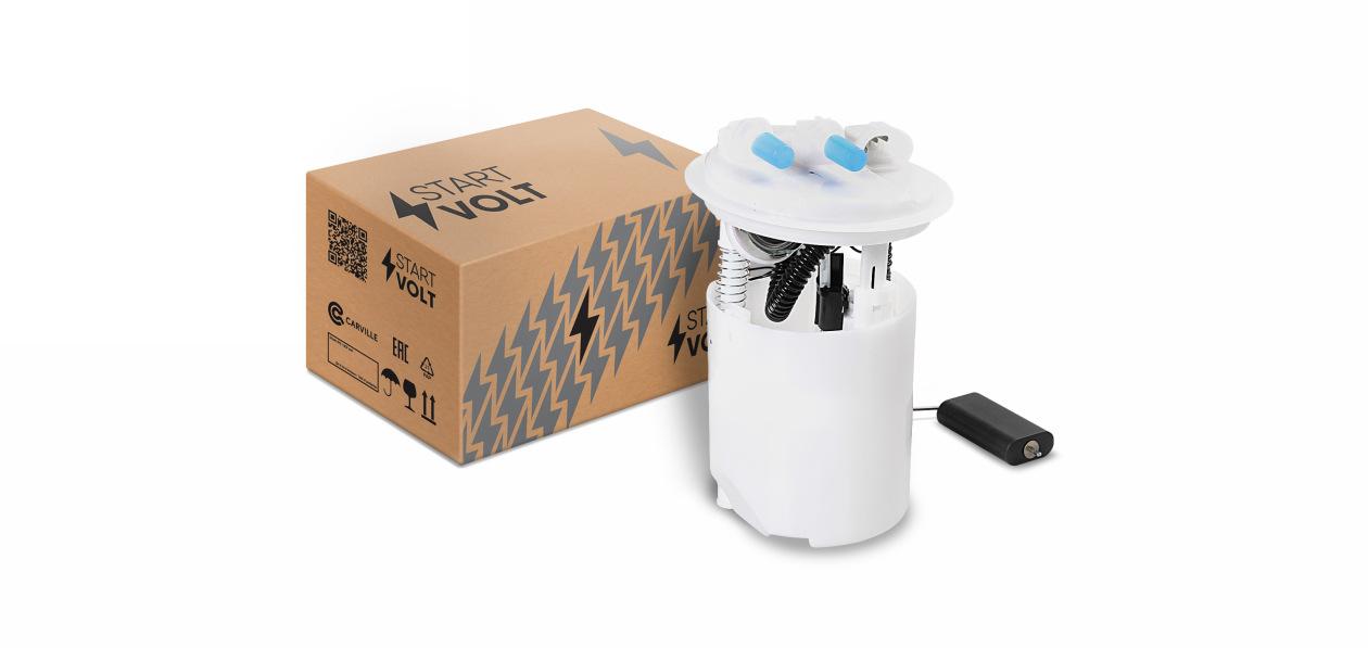 StartVOLT расширил фирменный ассортимент модулей топливного насоса