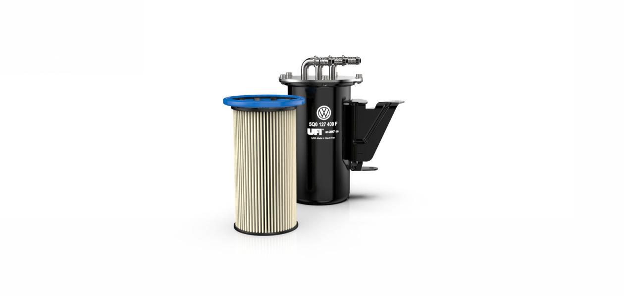 UFI Filters выпустила топливный фильтр для дизелей Volkswagen