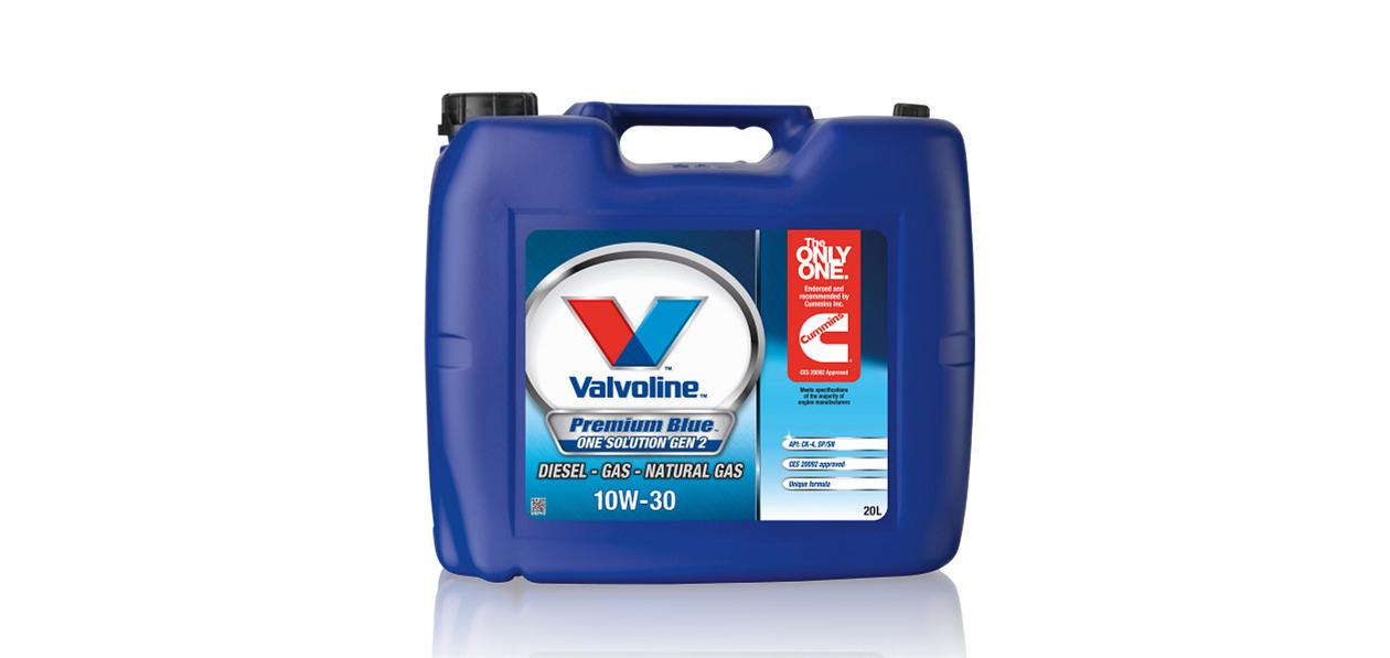 Valvoline выпустила новое масло для двигателей Cummins