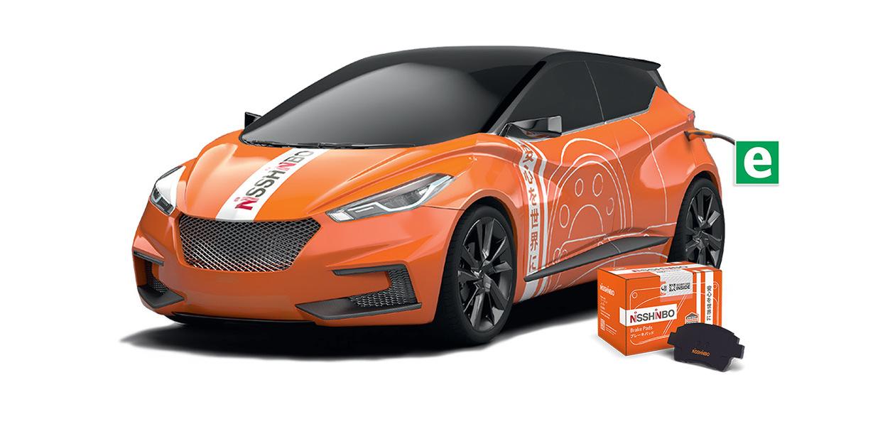 У Nisshinbo появились запчасти для электромобилей