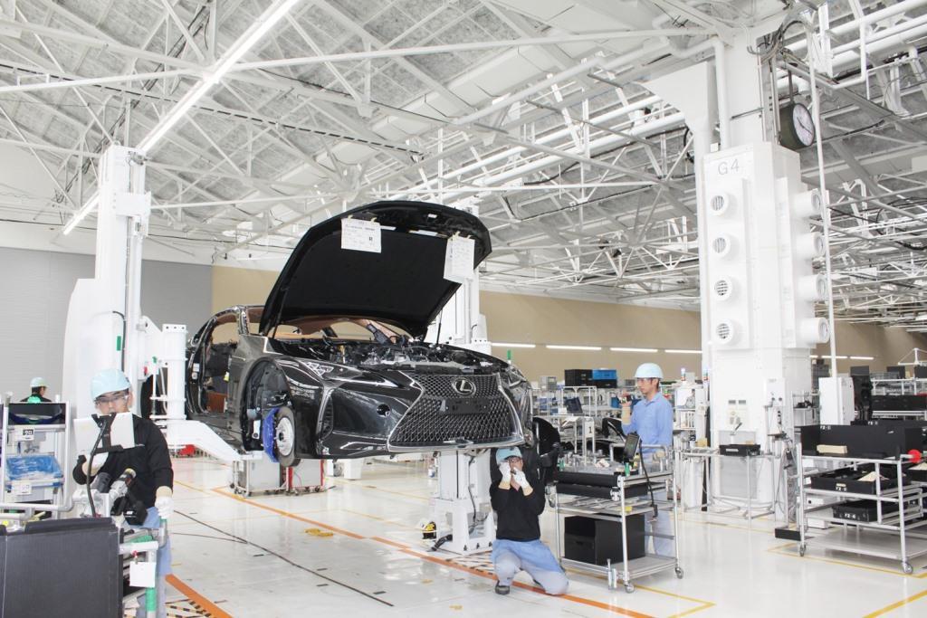 Началось серийное производство купе Lexus LC