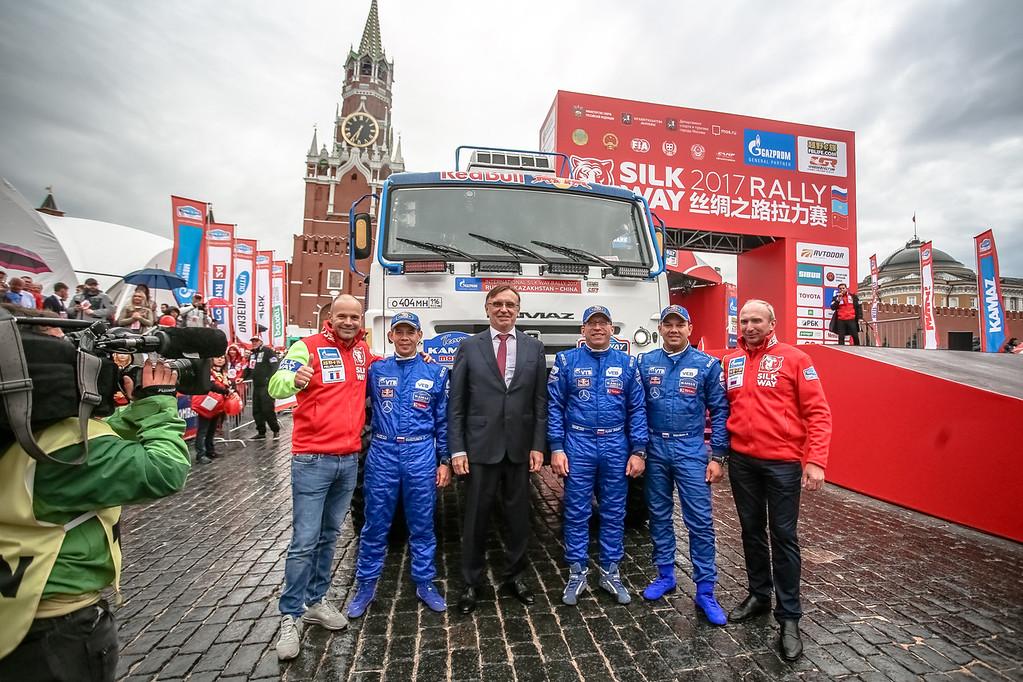 Казахстанец Артур Ардавичюс занял 3 место на 4-м этапе ралли «Шелковый путь»