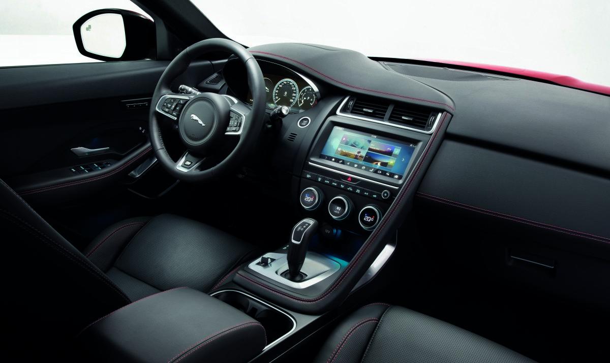 Новый Ягуар E-Pace стал самой маленькой моделью бренда