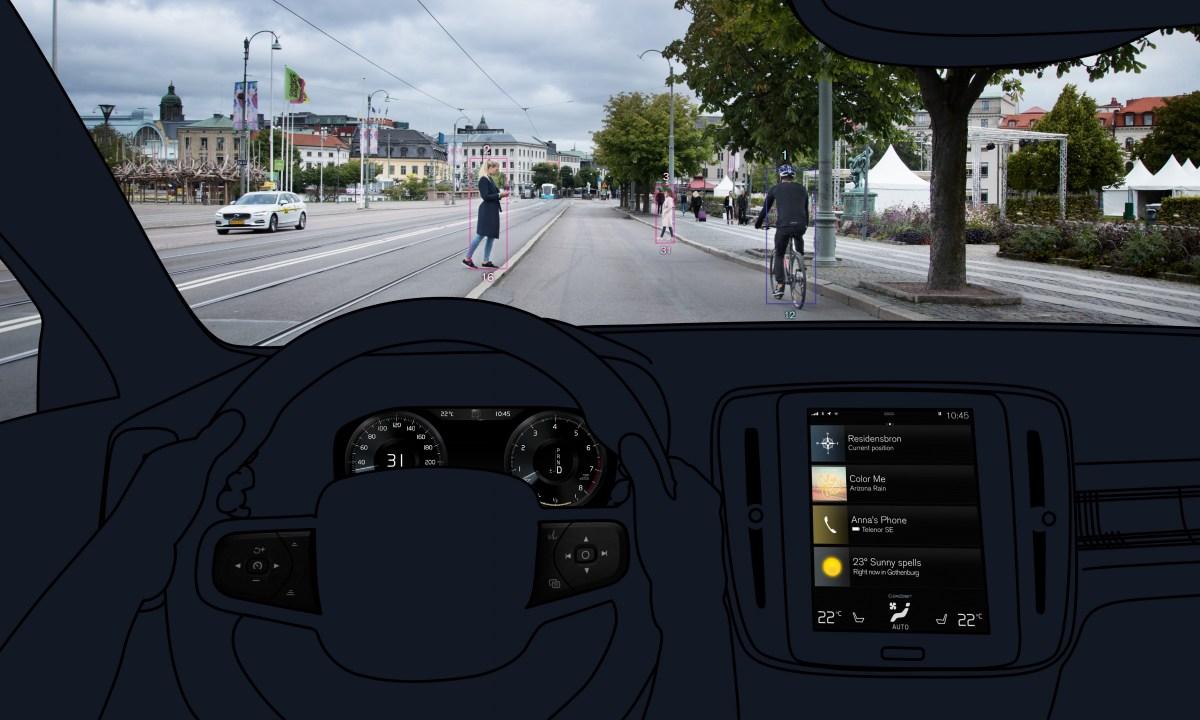 Вольво XC40: изображения безопасности