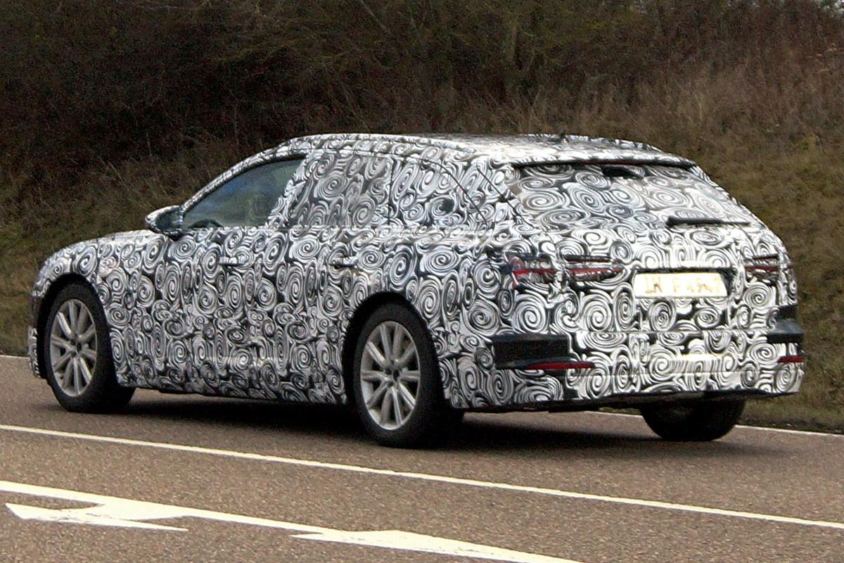 Автомобильные шпионы сделали первые фотографии нового универсала Ауди A6 Avant