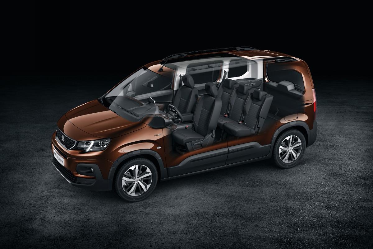 Фургон Rifter: Представлен преемник Peugeot (Пежо) Partner