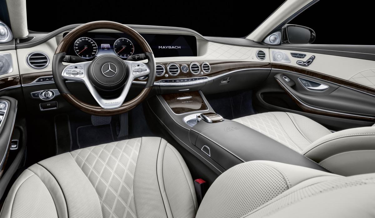 Обновлен 6,5-метровый лимузин Mercedes-Maybach Pullman