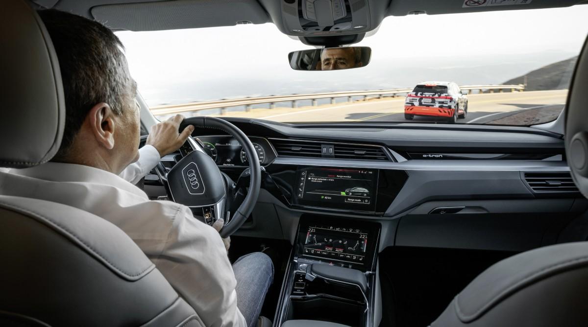 Audi e-tron получит продвинутую систему рекуперации энергии