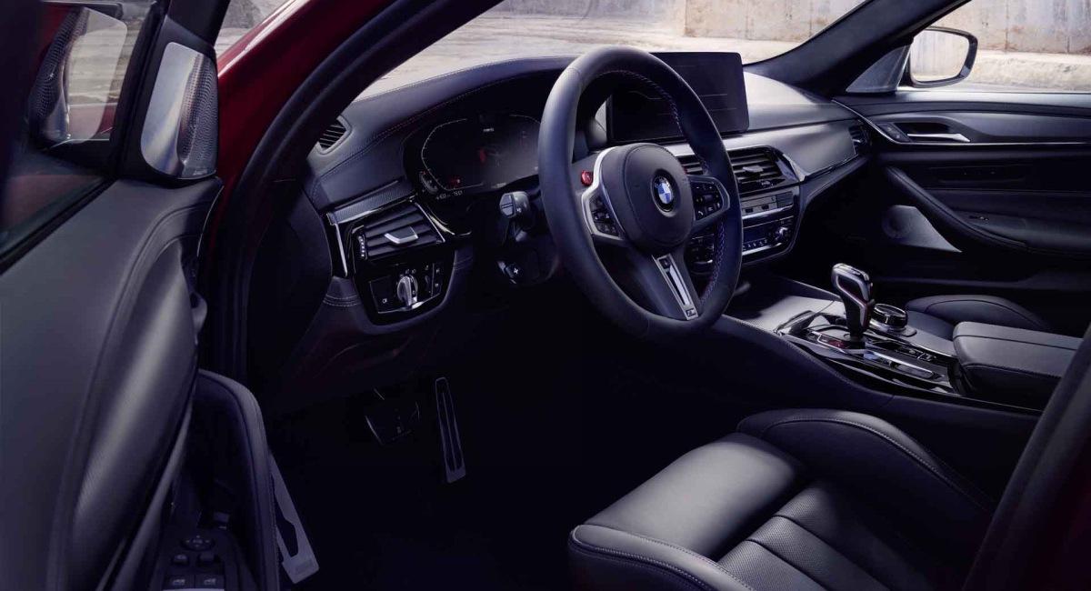 BMW представил обновленный M5