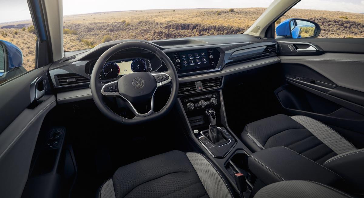 ВСША представили новый кроссовер VW Taos