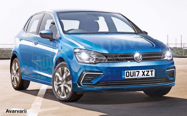 Обновленный тип VW Polo представят вконце 2017