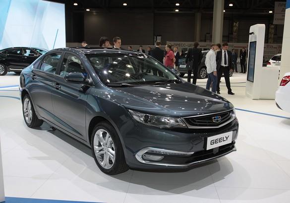 Компания Geely презентовала в столицеРФ собственный новый седан EmgrandGT
