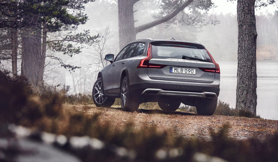 Новый Volvo V90 Cross Country: первые фото