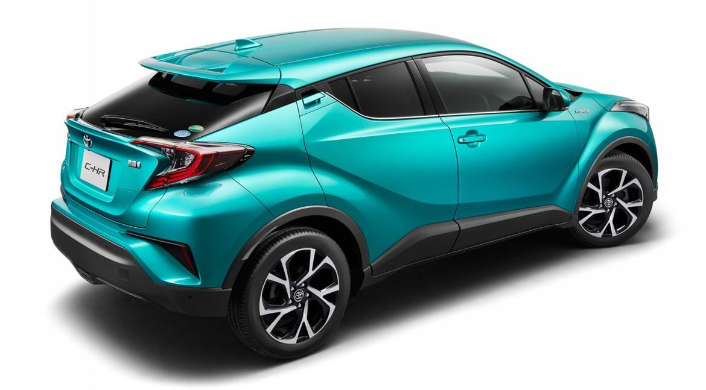 Тойота поведала оспецификациях кроссовера C-HR для рынка Японии