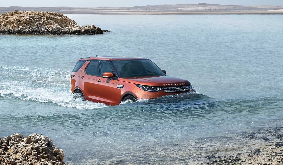 Land Rover представил новый Discovery