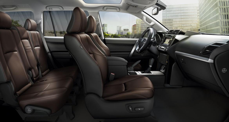 В Российской Федерации стартовали продажи спецверсии Тойота Land Cruiser Prado Style