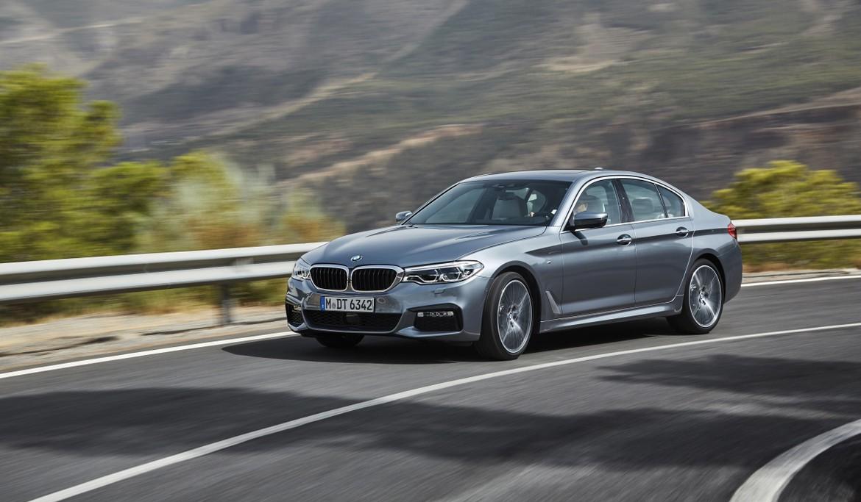 BMW официально представил новую «пятерку»