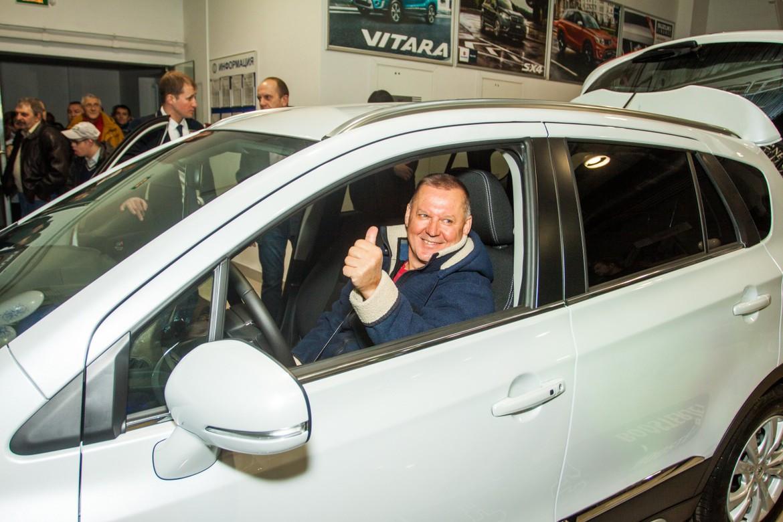 ВМинске новый посредник Сузуки представил рестайлинговую модель SX4