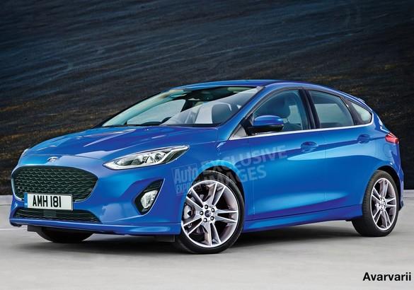 Улучшенный Форд Focus покажут в последующем году