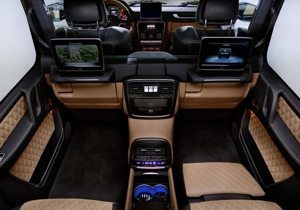 1-ый вседорожный автомобиль Mercedes-Maybach будет выпущен ограниченной серией