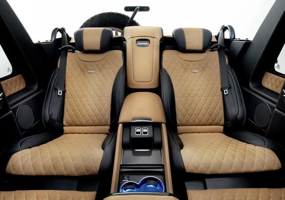 Озвучена русская стоимость первого джипа Maybach Landaulet G650