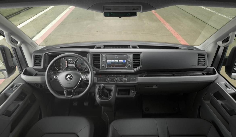 Названы цены на VW Crafter для русского рынка