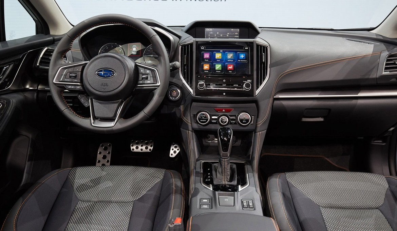 Субару представила кроссоверXV обновленного поколения