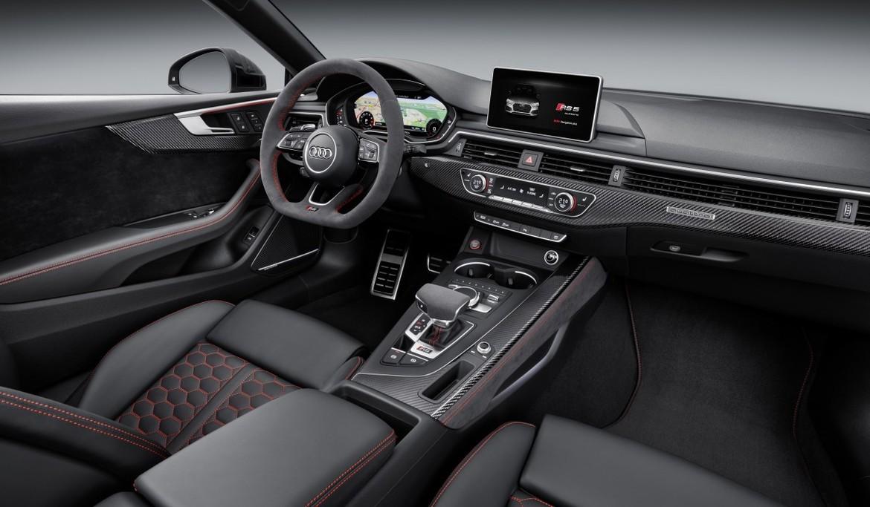 Женева 2017 новый Audi RS 5 Coupe получил мотор Porsche