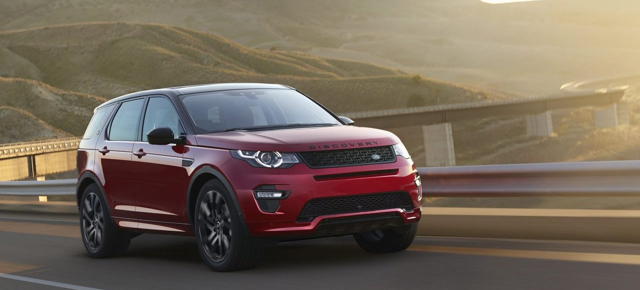 Франкфурт-2015: Land Rover Discovery Sport стал «динамичнее»