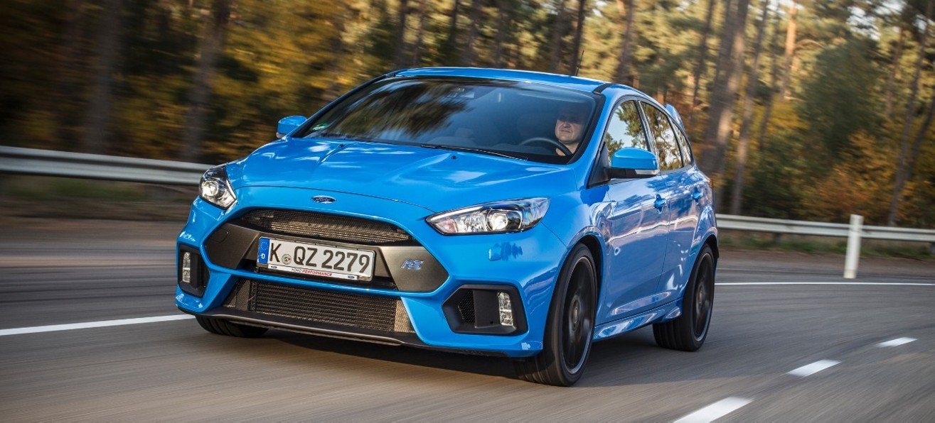 Новый Ford Focus RS встал на конвейер