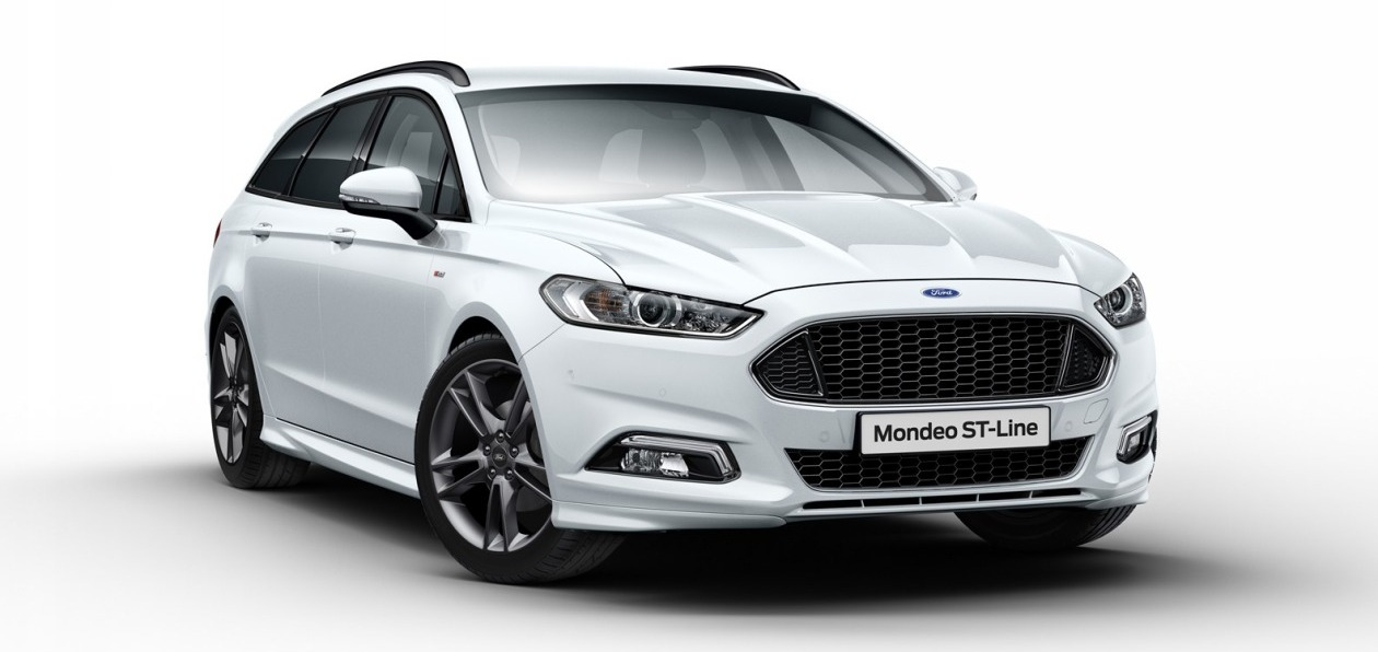 Ford Mondeo получил пакет ST-Line
