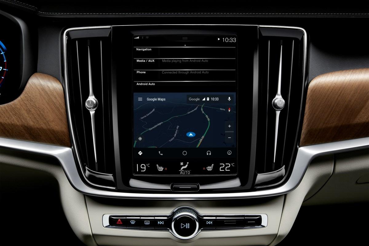 Вавтомобили Вольво добавили функцию обмена информацией огололеде