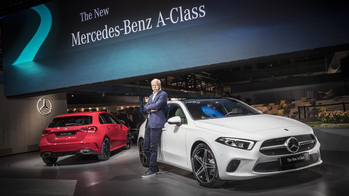 Официально: представлен Mercedes-Benz A-Class нового поколения