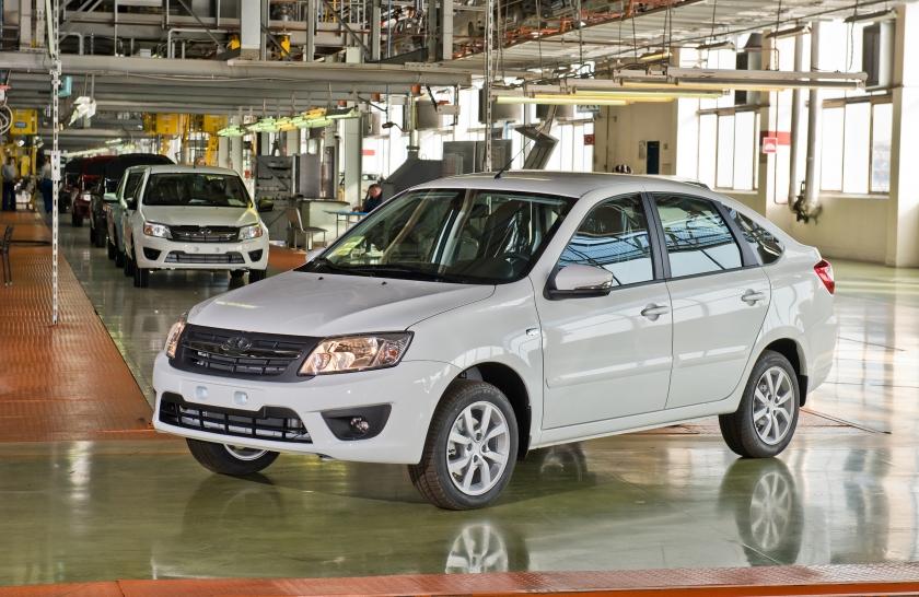 «АвтоВАЗ» перенесет производство Лада Granta Liftback вТольятти