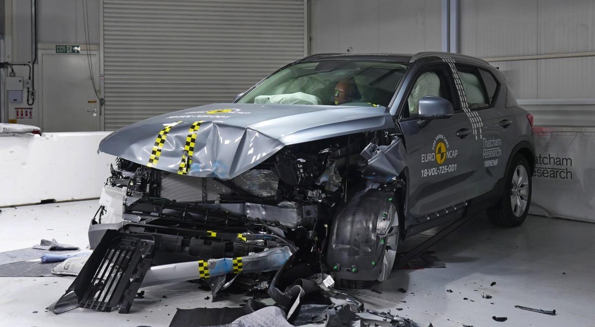 Вольво XC40 и Форд Focus показали ошеломительные результаты накраш-тестах