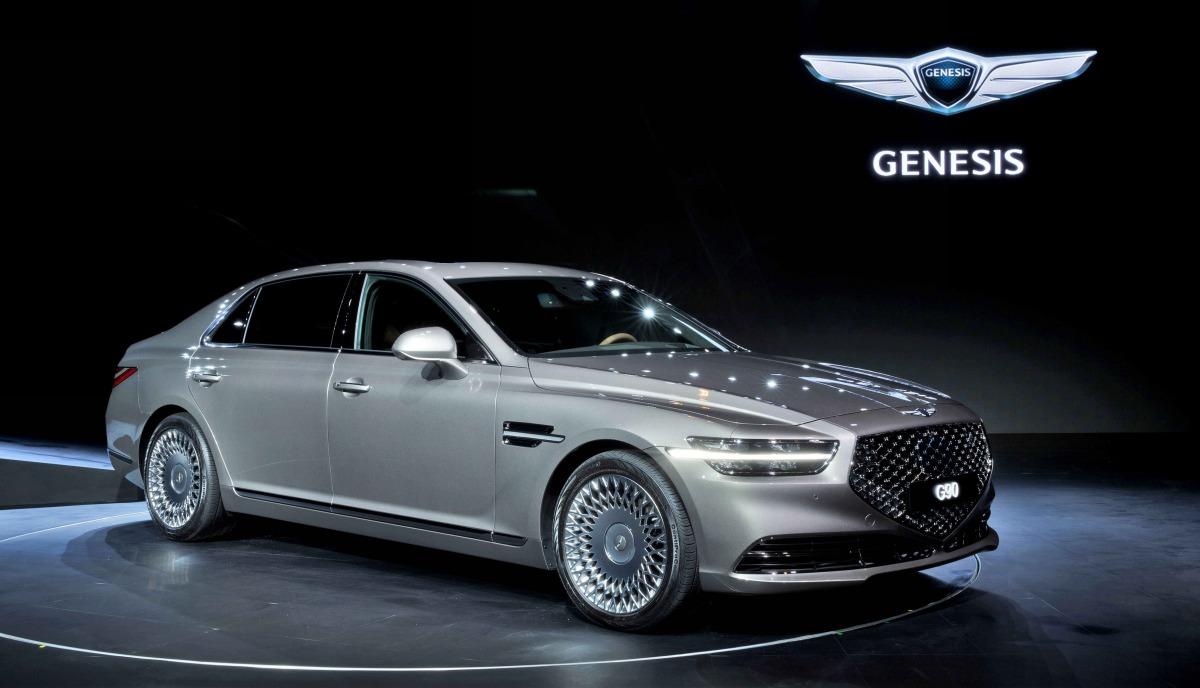В Корее представили обновленный Genesis G90