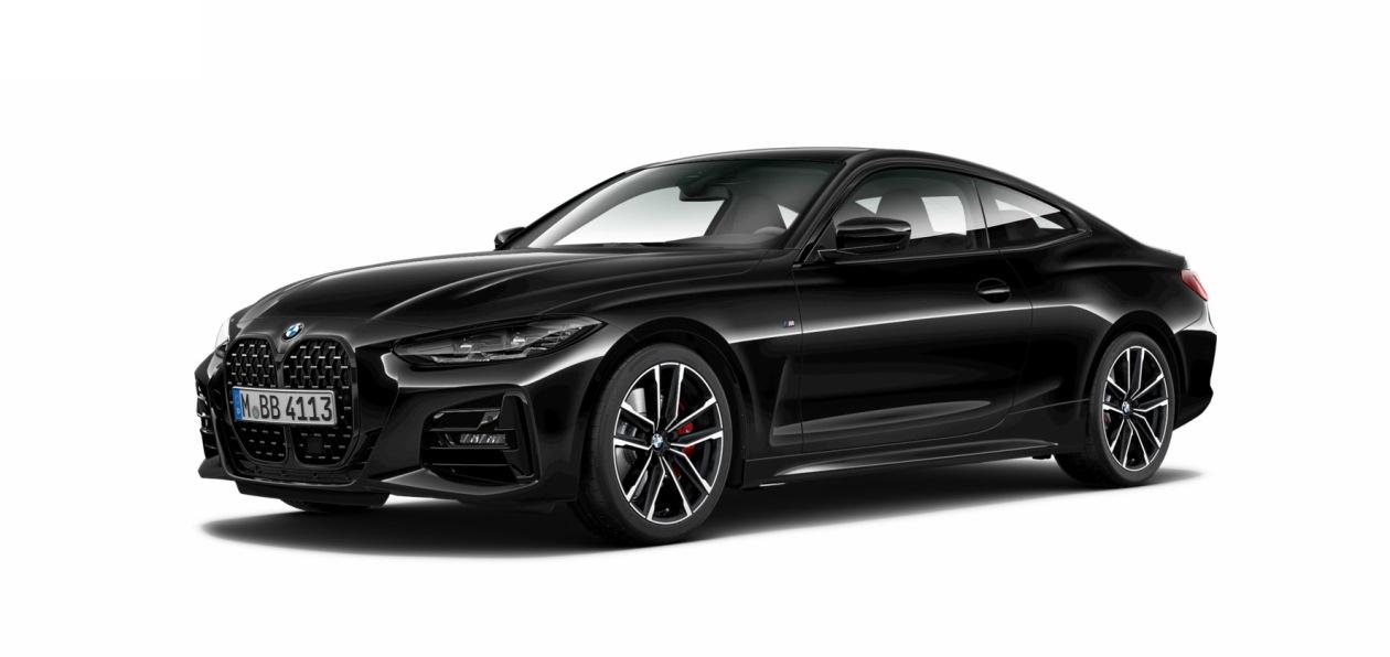 Новая «четверка» BMW стала доступна в России в «черной» спецверсии