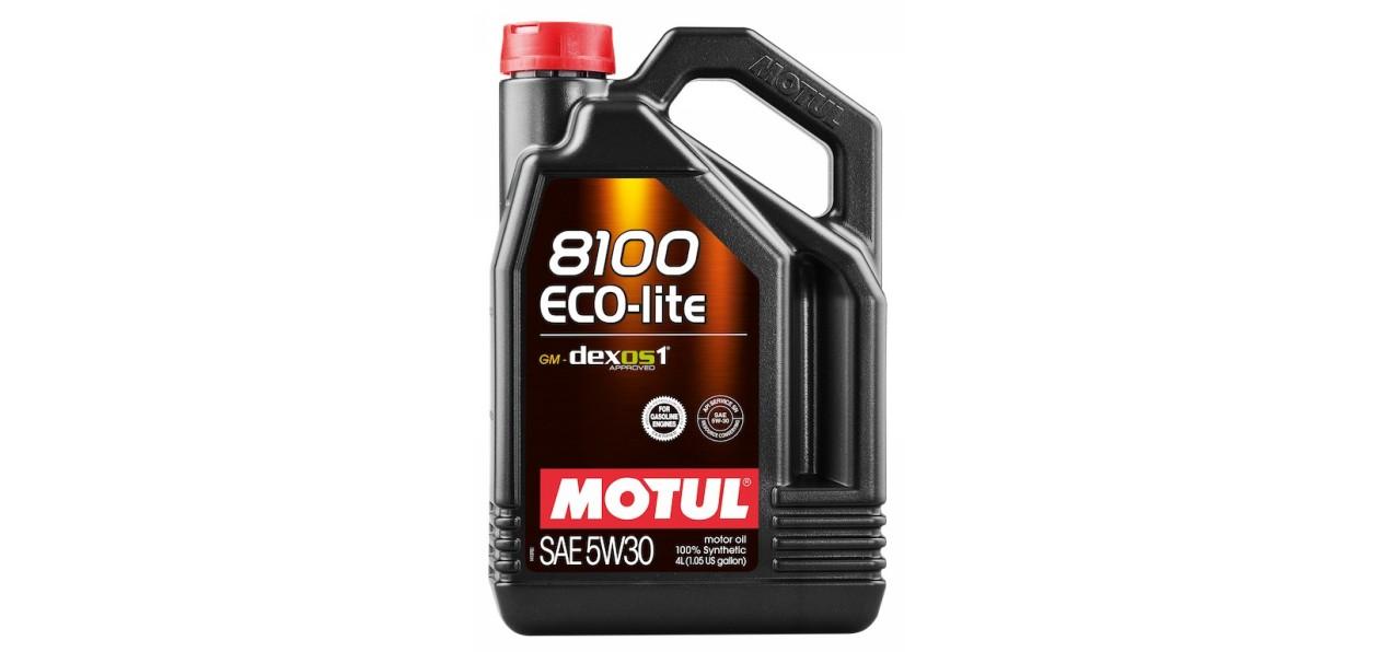 Масло Motul 8100 Eco-lite получило одобрение GM