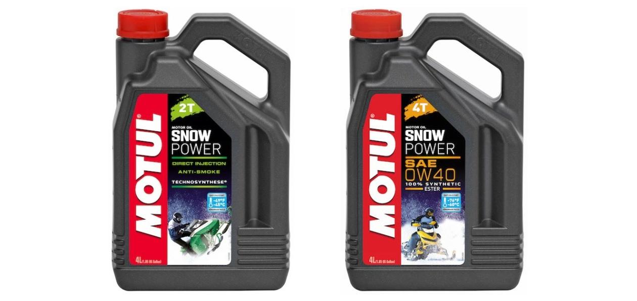 Motul выпустил масло для снегоходов