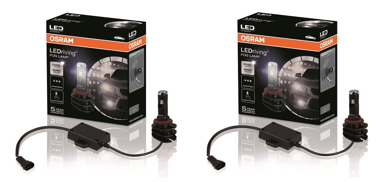 Osram представил новые лампы для противотуманок