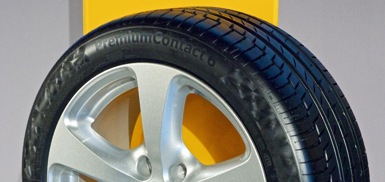 Continental представил новые модели летних шин